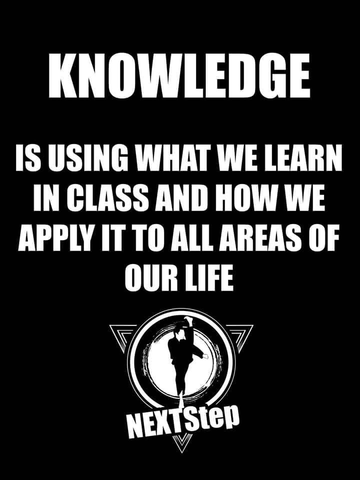 Knowledge, NEXTStep Martial Arts Gettysburg PA